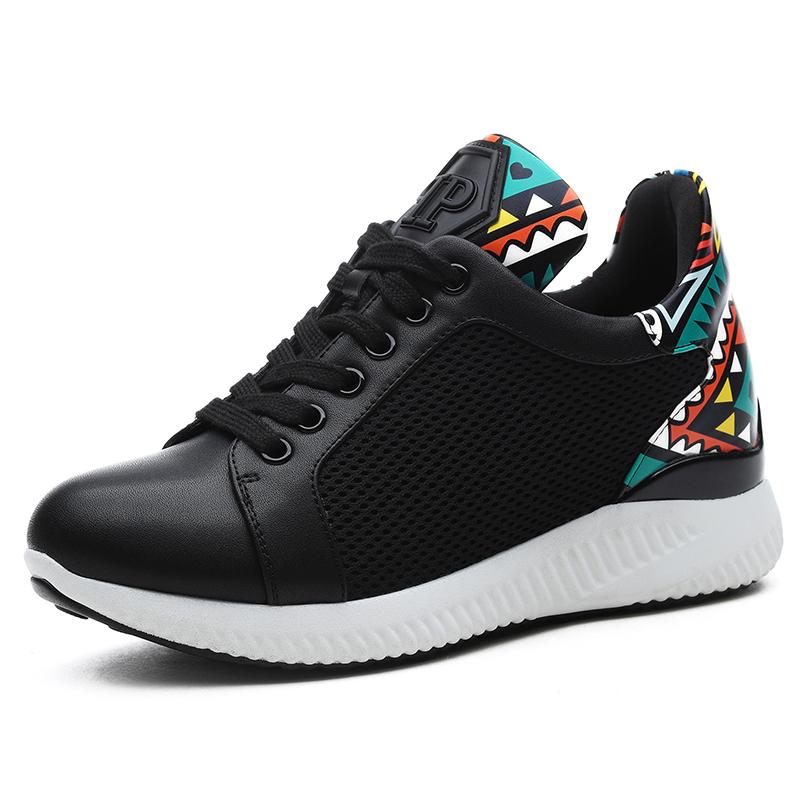 Korea Fashion Style bernapas jala sepatu sekolah sepatu sneaker (Model  perempuan + 885-1 d51527598b