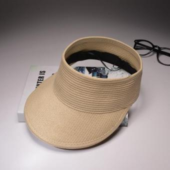 Flash Sale Korea Fashion Style hitam pantai topi topi topi (Beige) Flash  Sale f835f17b4a