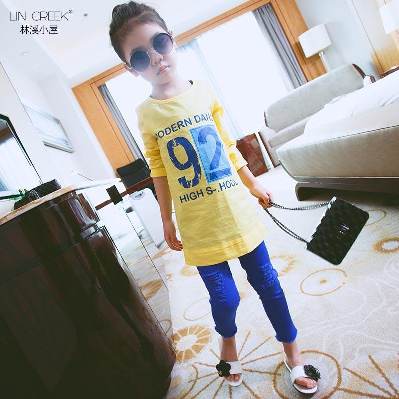 Korea Fashion Style Kapas Baru Musim Semi Dan Musim Gugur Gadis Mantel Pakaian Anak-anak