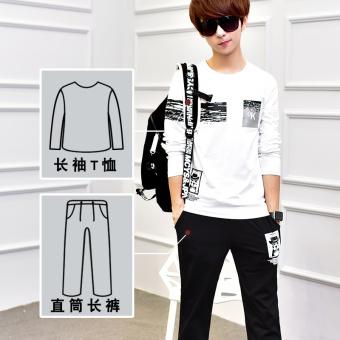 Jual Korea Fashion Style Katun Remaja Lengan Panjang T