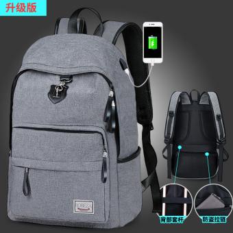 Korea Fashion Style laki-laki SMP dan siswa SMA tas tas ransel (Versi  upgrade 1b1090d303