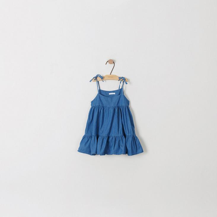 ... -Abu Baju Kaos + Rok) Terkini. Source · Korea Fashion Style lengan pendek t-shirt gaun anak untuk anak perempuan berdandan (Biru