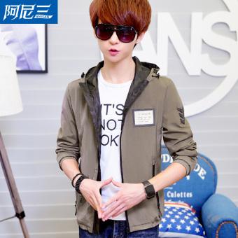 Jual Korea Fashion Style Baru Remaja Jaket Jaket Pria