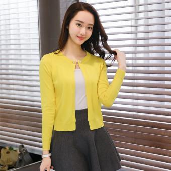... SWEATER BIRU TUA. Pencarian Termurah Korea Fashion Style musim semi dan musim panas baru Slim tipis jas bagian pendek