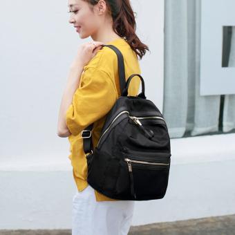 ... Atdiva Tas Ransel Korea Seri Hakkyo – Absolute Hitam Terbaru. Korea Fashion Style nilon musim semi dan musim panas baru ransel Mummy tas (Hitam)
