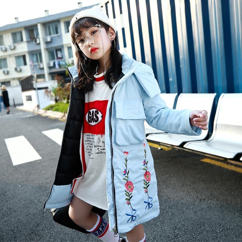 ... Baru Empuk Jaket Mantel Source · Flash Sale Korea Fashion Style perempuan anak besar empuk musim dingin untuk anak perempuan mantel