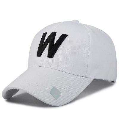 Korea Fashion Style pria musim panas topi baseball topi topi (W-Putih)