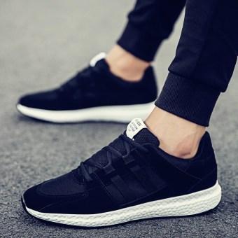 9547111b8 Jual Korea Fashion Style pria sepatu sepatu pria (H06-SC hitam) Murah