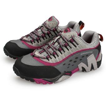 ... Kulit Asli perempuan Hiking Sepatu gunung Climbing Sepatu OlahragaSepatu Pasangan Trekking Sepatu Women's Super Breathable OutdoorSports