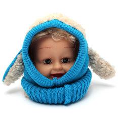 ... Kupluk Musim Dingin Bayi Anak Laki laki & Gadis Berkerudung Syal Topi Hangat Earflap Topi