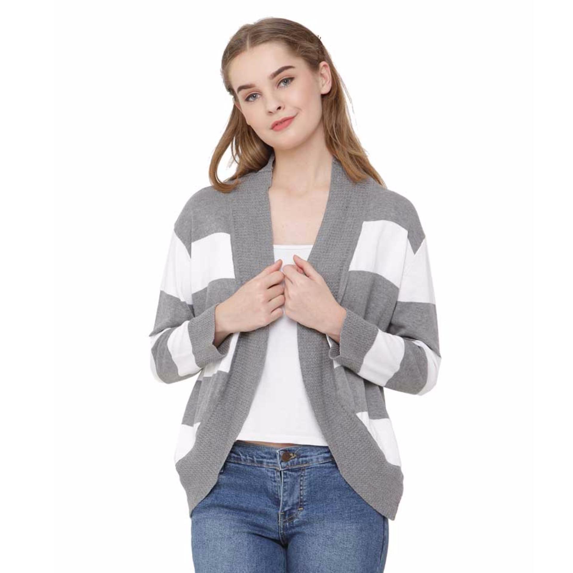 Cheap online Lagenza Fashionable Sweater Rajut Cardigan Wanita Lgcb 554