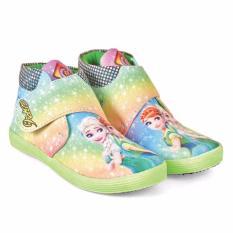 Lagenza New Edition Cute Sepatu Canvas Casual Anak-anak Perempuan Lgcb 691