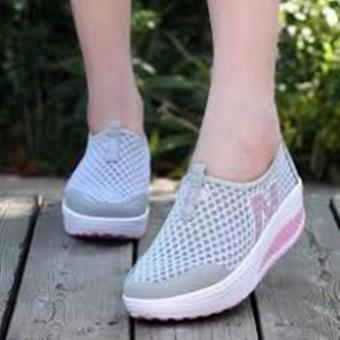 Lalalng New Height Increasing Shoes Casual Women Abu