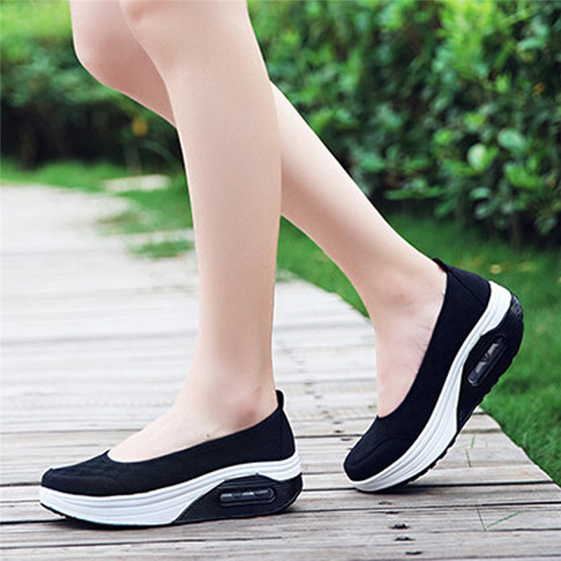 LALANG Sepatu Kasual wanita (hitam) - International .
