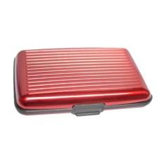 Lanjarjaya Card Guard Aluminium Wallet - Dompet Penyimpanan Kartu Serbaguna