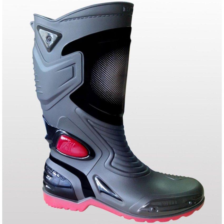 Lbag Sepatu Karet Pvc Anti Tembus Air Banjir Hujan Ap Boots Moto 3 .