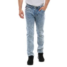 Lee Cooper Jeans Pria Slim Fit Light Indigo Norris Artisan