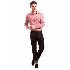 Lee Cooper Jeans Pria Straight Fit Dark Indigo HARRY Rinse