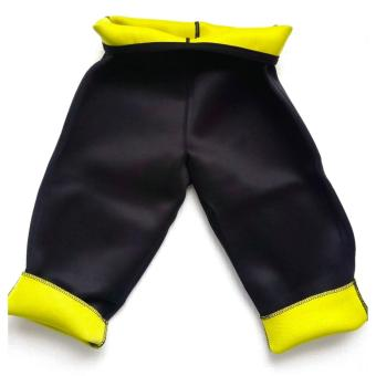 ... Legging Wanita Hot Shapper Neoprene Boddy Slimming Legging CelanaSauna Celana Pelangsing Paha - Black - 4 ...