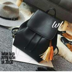 Lestari Fashion - Tas Ransel / Back Pack Wanita Rumbey hitam