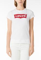Levi's Slim Crew Neck Graphic Tee - White