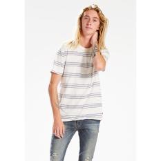 Levi's Stripe Crew Fashion Tee - Sandwich Stripe