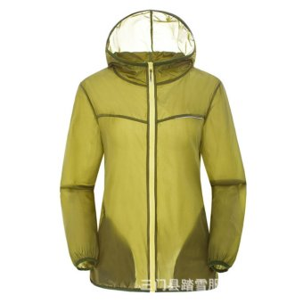 Lightweight Rainwear Ultra-thin Breathable Quick-drying Cycling Running Windbreaker Jacket - intl - 5