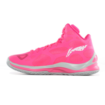harga LINING Abpl006 Perempuan Pergelangan Kaki Tinggi Generasi Sepatu Wanita Sepatu Bola Basket (Cahaya Fluoresensi Bubuk Buah  Kayu Mei) Lazada.co.id