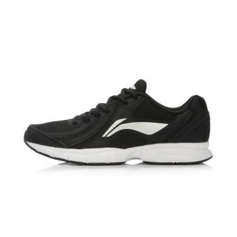 Harga LINING arbl037 kasual bernapas jala pria sepatu olahraga sepatu pria (New dasar hitam/silver) Ori