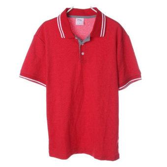 LINING membeli seri POLO kemeja kerah t-shirt (APLJ815-2) (APLJ815-2)
