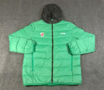 Harga LINING pria musim dingin ringan jaket basket (AYMJ249-1 hijau) Ori