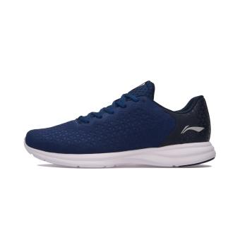 LINING ringan memakai non-slip reflektif kebugaran sepatu sepatu lari (Biru tua biru/Guangdong biru)