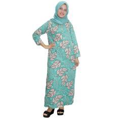 Longdres Batik, Daster Lengan Panjang Batik, Baju Tidur, Piyama, Kancing, Daster Bumil, Busui (LPT001-24)