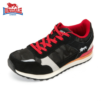 Beli LONSDALE Korean-style female winter New style running shoes women s  shoes sports shoes (Hitam) Online f9757d8d36