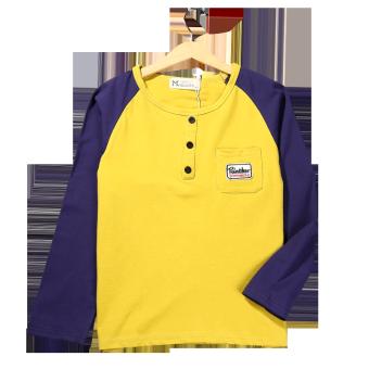 Cari Bandingkan LOOESN kapas musim semi dan musim gugur anak bottoming kemeja t-shirt (