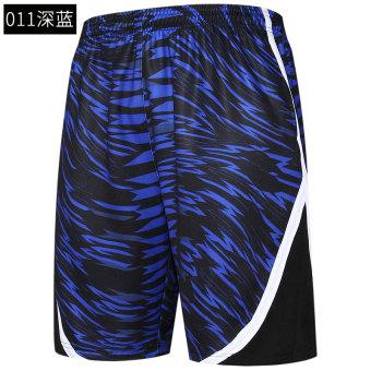 Cari Bandingkan LOOESN musim panas lutut bernapas cepat kering kebugaran celana pendek basket celana pendek celana pendek (011 biru tua celana pendek ...
