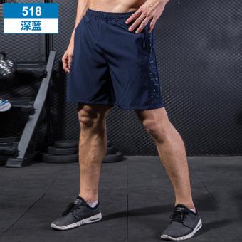 Price Checker LOOESN pria dan wanita bernapas musim panas bagian tipis lima celana kebugaran celana pendek