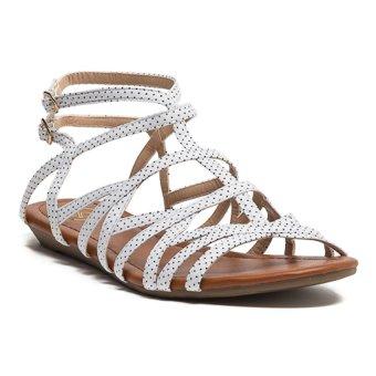 LZD Multi Strap Sandals - White