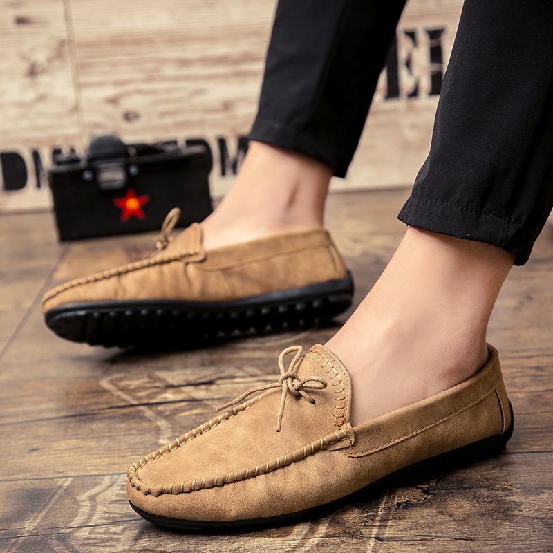 Flash Sale Malas pria Peas sepatu sepatu musim gugur sepatu pria (E39 khaki)