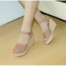 Marlee DK-09 Wedges Sandal - Moca