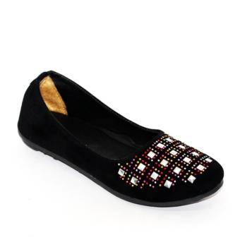 Marlee RM-03 Flat Shoes - Hitam