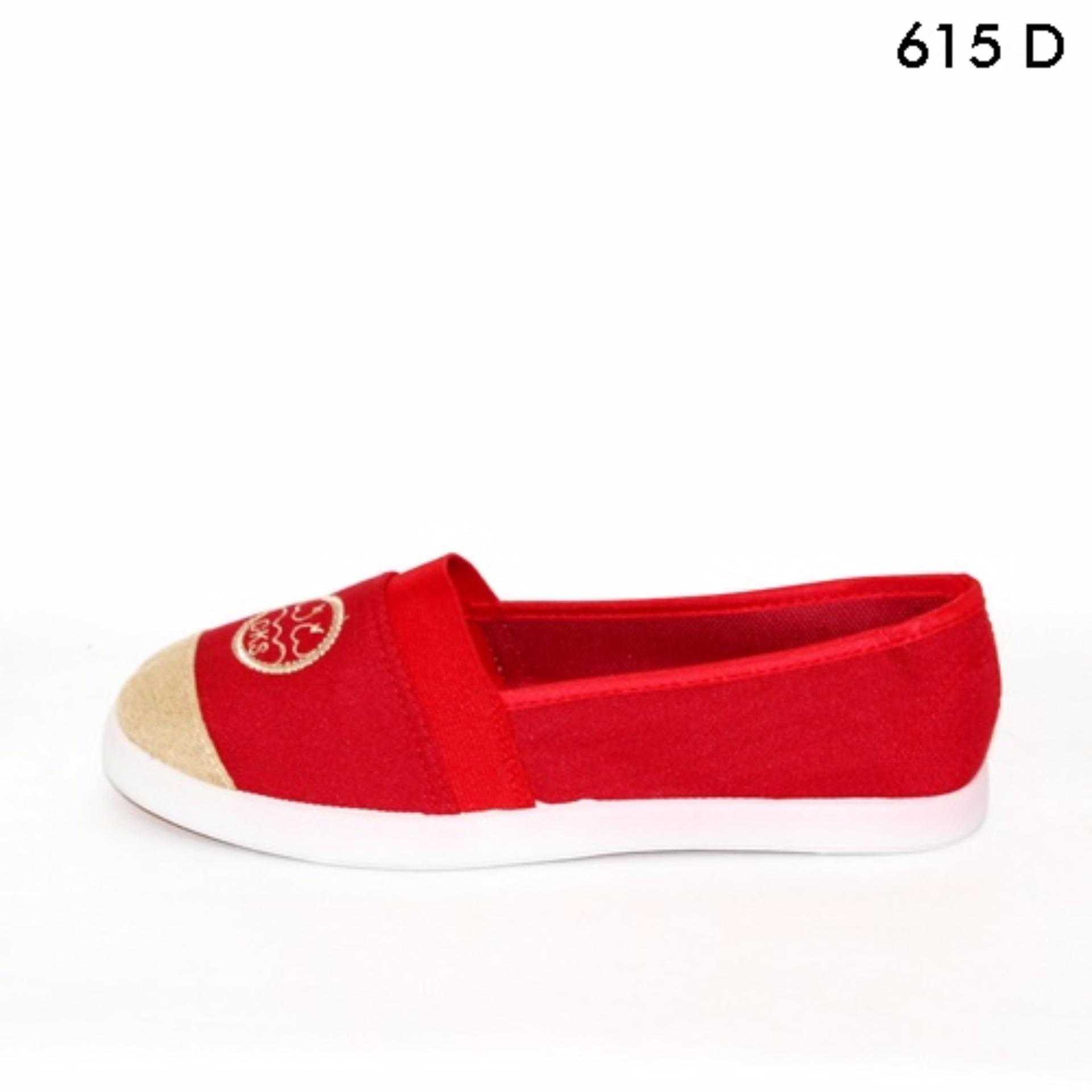 Marlee sepatu slip on wanita impor 615 ...