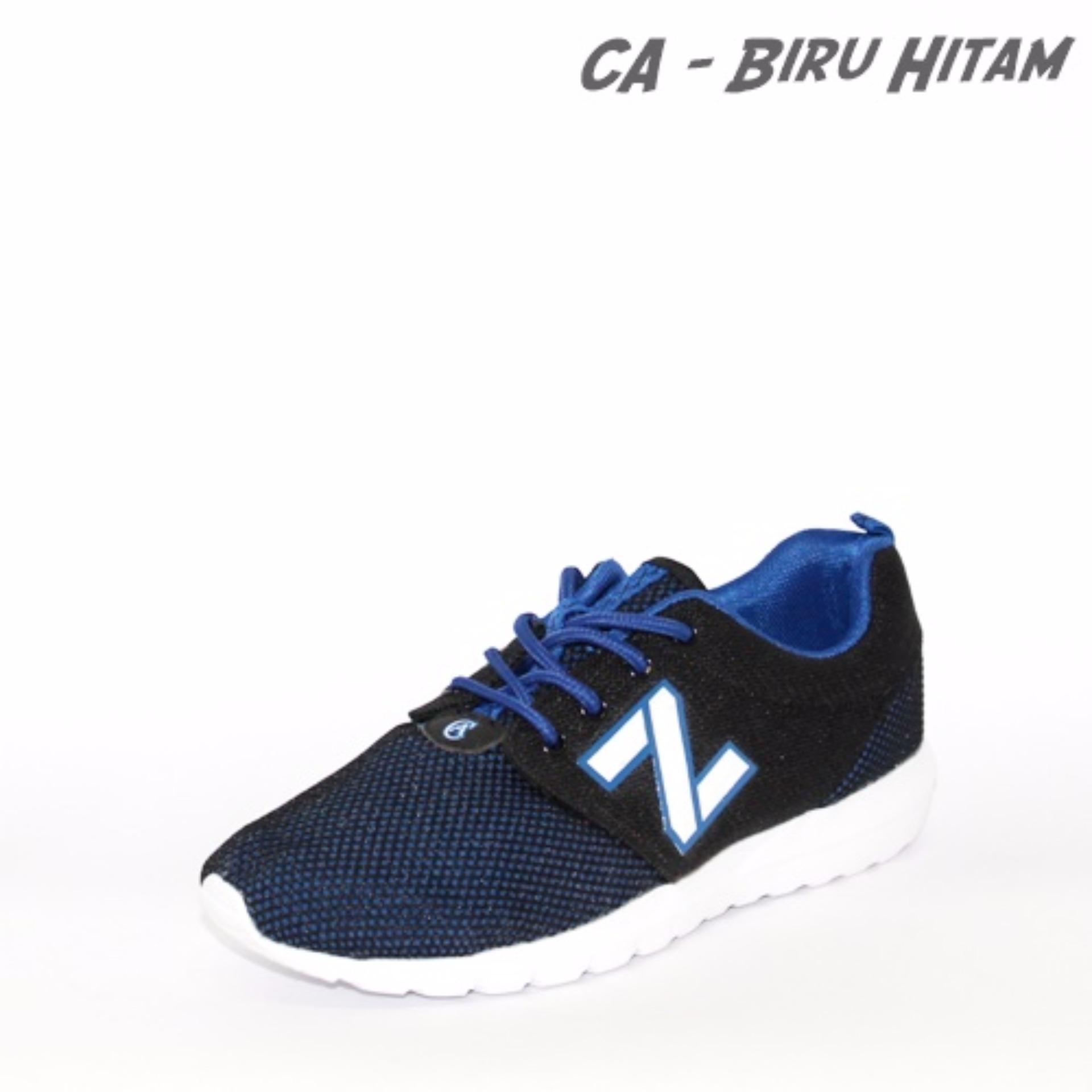 ... Marlee Sepatu Sneaker Import CA - Biru / Hitam ...