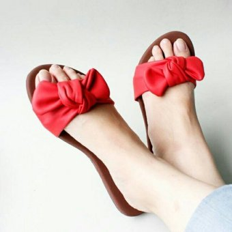 harga Marlee SS-04 Sandal Pita - Merah Lazada.co.id