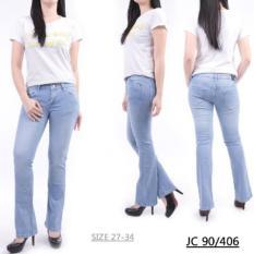 master jeans celana wanita cutbray size 27-34