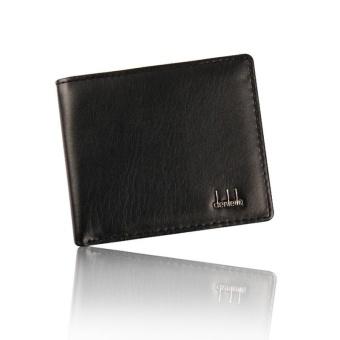 Men Bifold Business Leather Wallet ID Credit Card Holder Purse Pockets BK - Black - intl - 4