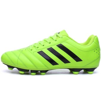 Men Sweat Anti-skid Comfortable Cushioning Breathable Wear-resistant Soccer Shoes - intl - 2