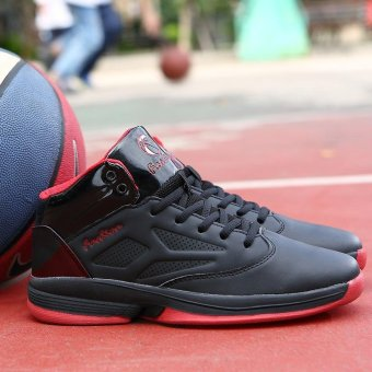 Men's Shock-absorbing Comfortable and Breathable Basketball Shoes - intl - 5