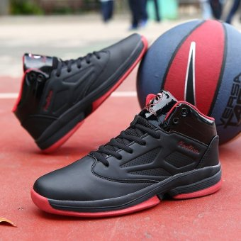 Men's Shock-absorbing Comfortable and Breathable Basketball Shoes - intl - 4