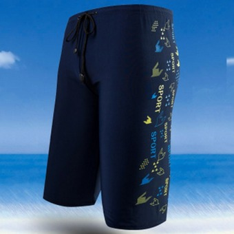 Harga Men's fashion boxer swimming trunks 8727